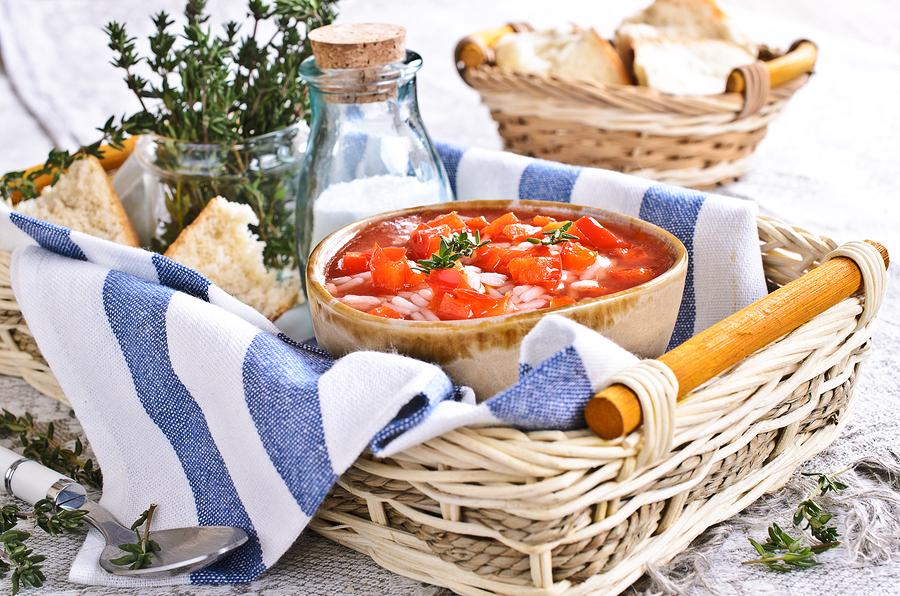 Καλοκαιρινή Ντοματόσουπα