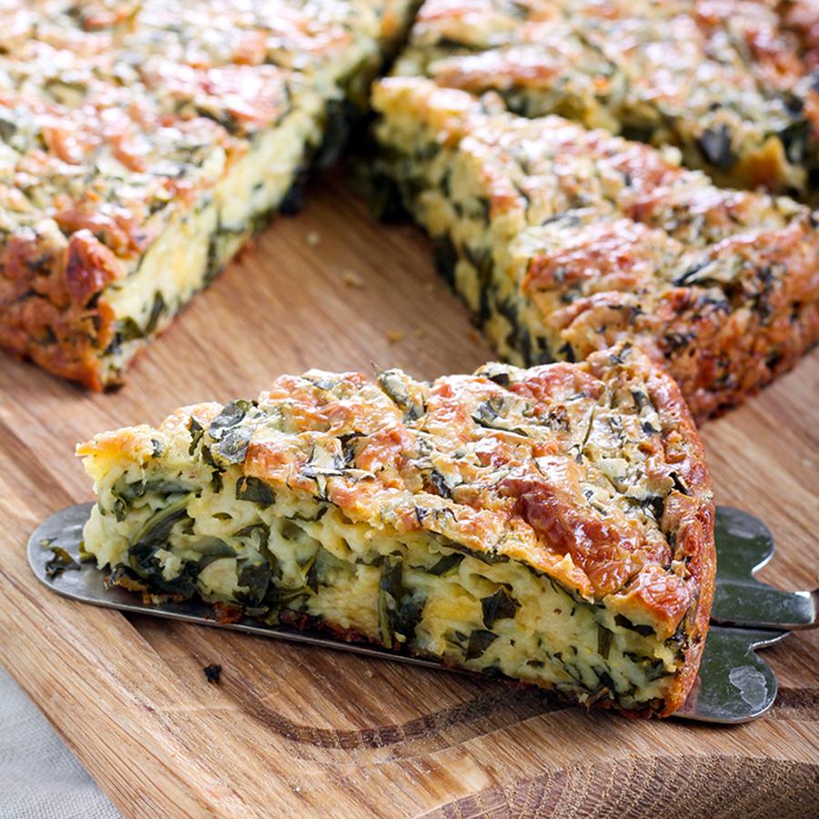 Πίτα με Βλήτα και Κατσικίσιο Τυρί