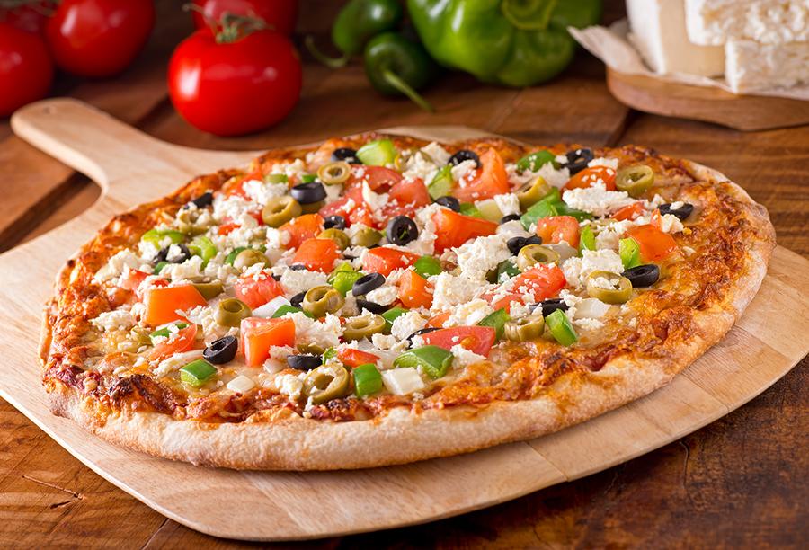 Πίτσα Μεσογειακή