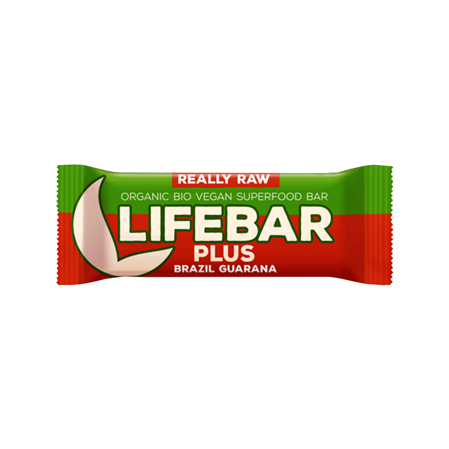 Μπάρα Ενέργειας με Καρύδια Βραζιλίας και Γκουαρανά 47g | Βιολογικό Σνακ Χωρίς Γλουτένη | Lifefood