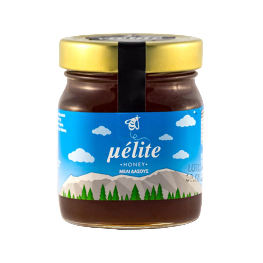 Μέλι Δάσους375g | Άθερμο Φυσικό Ελληνικό Μέλι |Melite Honey
