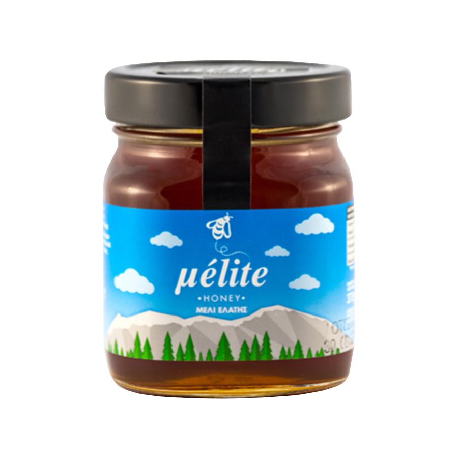 Μέλι Ελάτης 375g | Άθερμο Φυσικό Ελληνικό Μέλι | Melite Honey