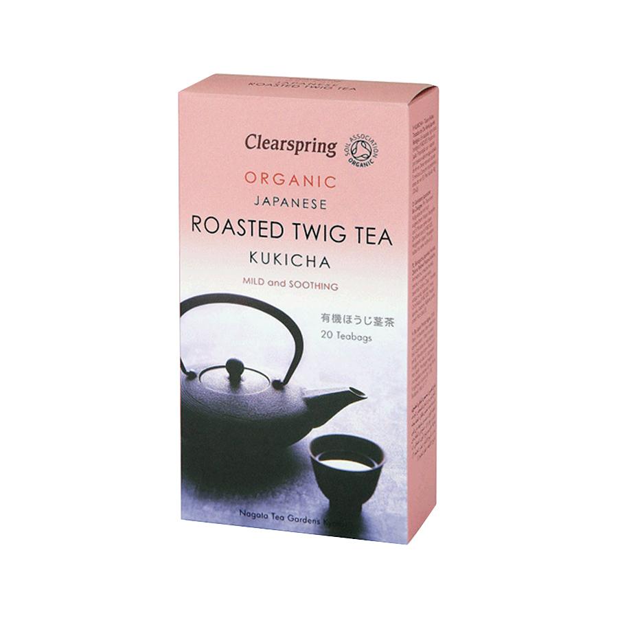 Βιολογικό Τσάι KUKICHA Χωρίς Ζάχαρη 40g  (20 φάκ.)   Clearspring