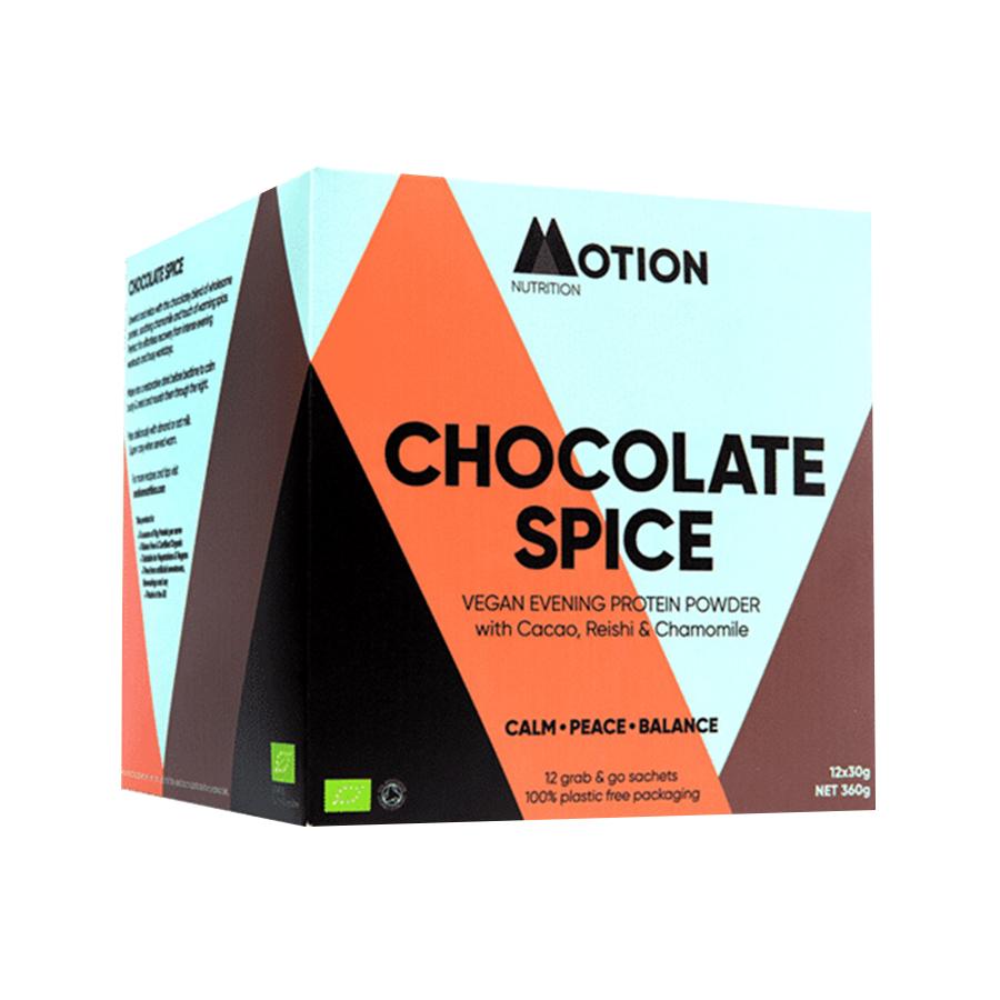 Vegan Evening Protein Chocolate Spice 360g | Motion Nutrition