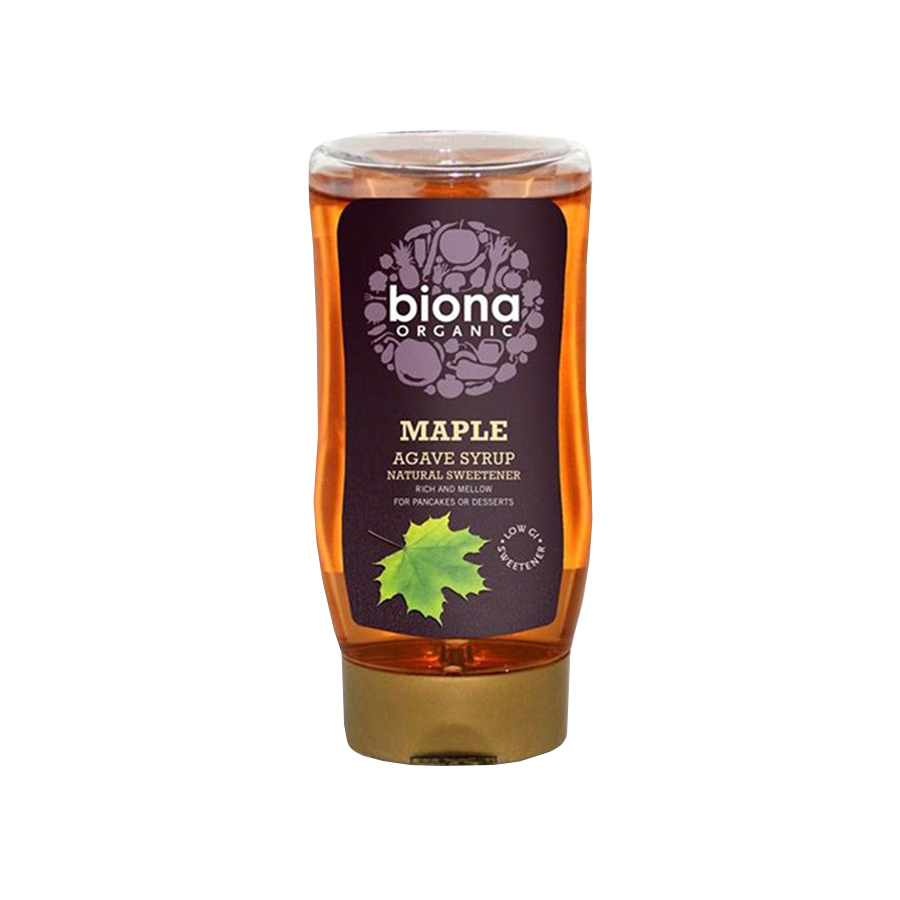 Maple Agave Syrup 350ml | Organic Vegan Natural Sweetener | Biona