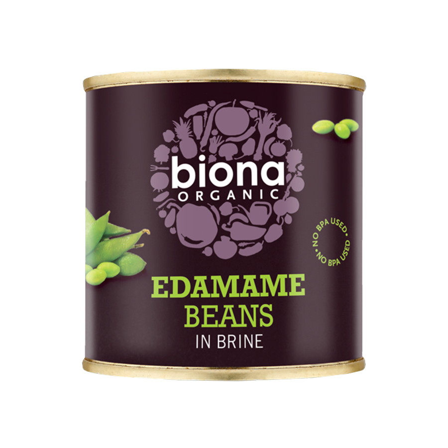 Edamame Beans in Brine 200g   Organic Vegan   Biona