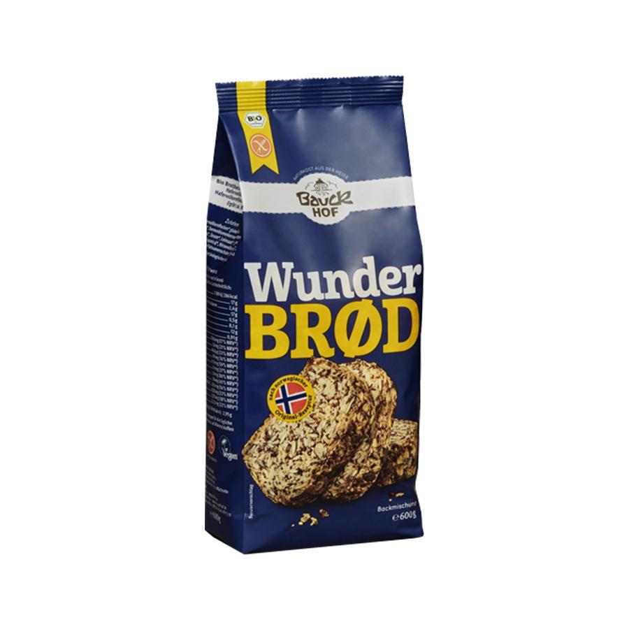 Baking Mix for Gluten Free Multigrain Bread 600g | Organic Vegan | Bauckhof