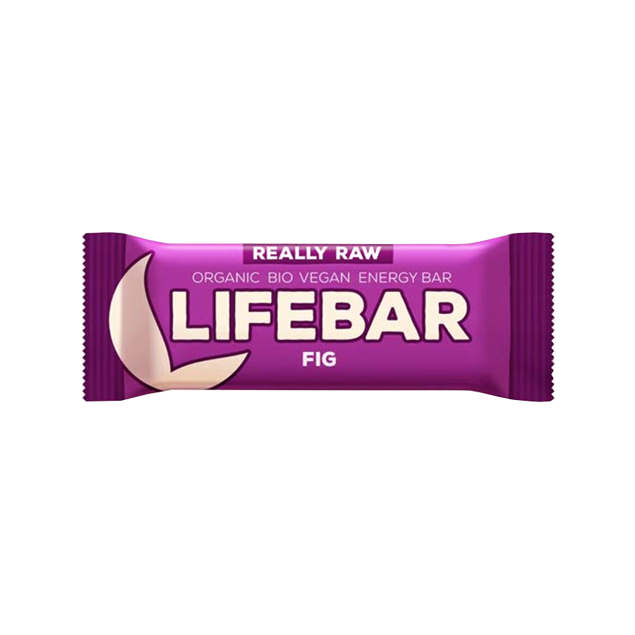 Μπάρα Ενέργειας Σύκο 47g   Ωμό Βιολογικό Vegan Σνακ Χωρίς Γλουτένη   Lifefood