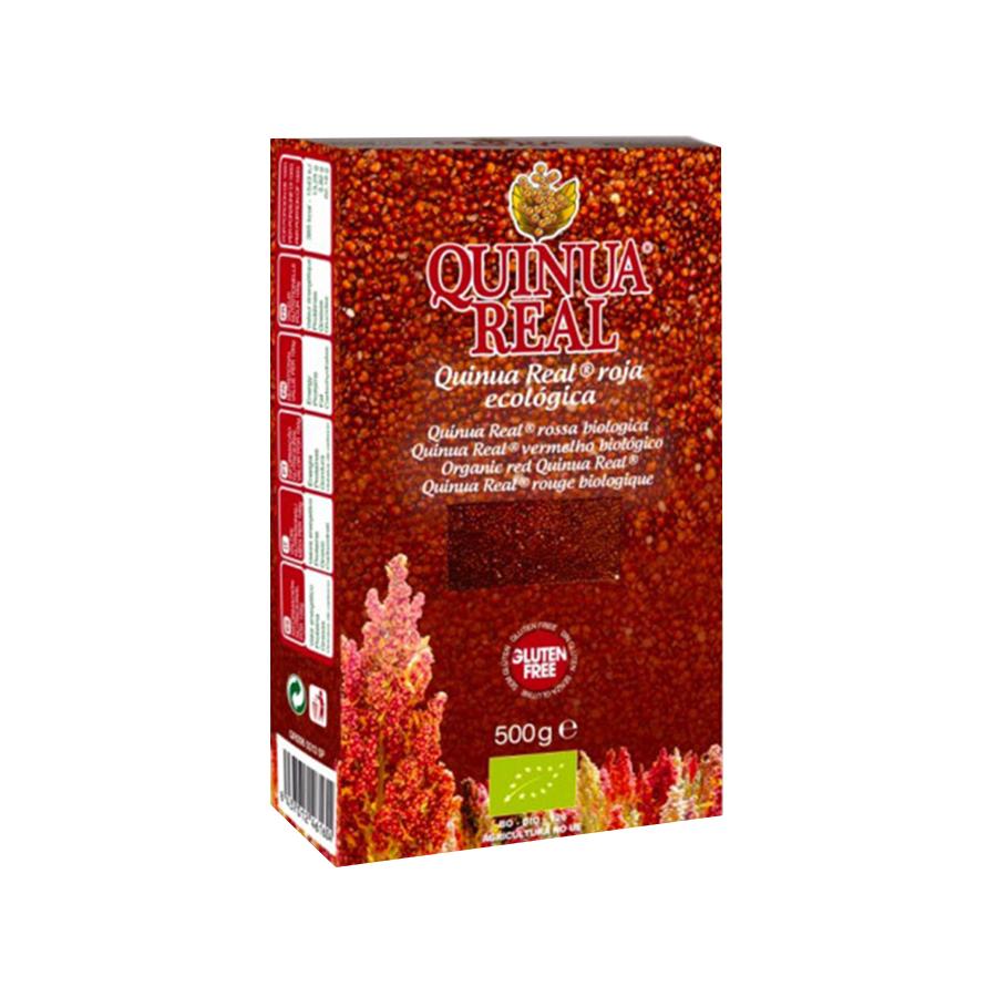 Κόκκινη Βασιλική Κινόα 500g   Βιολογική Χωρίς Γλουτένη Υψηλής Πρωτεΐνης Vegan   Quinua Real