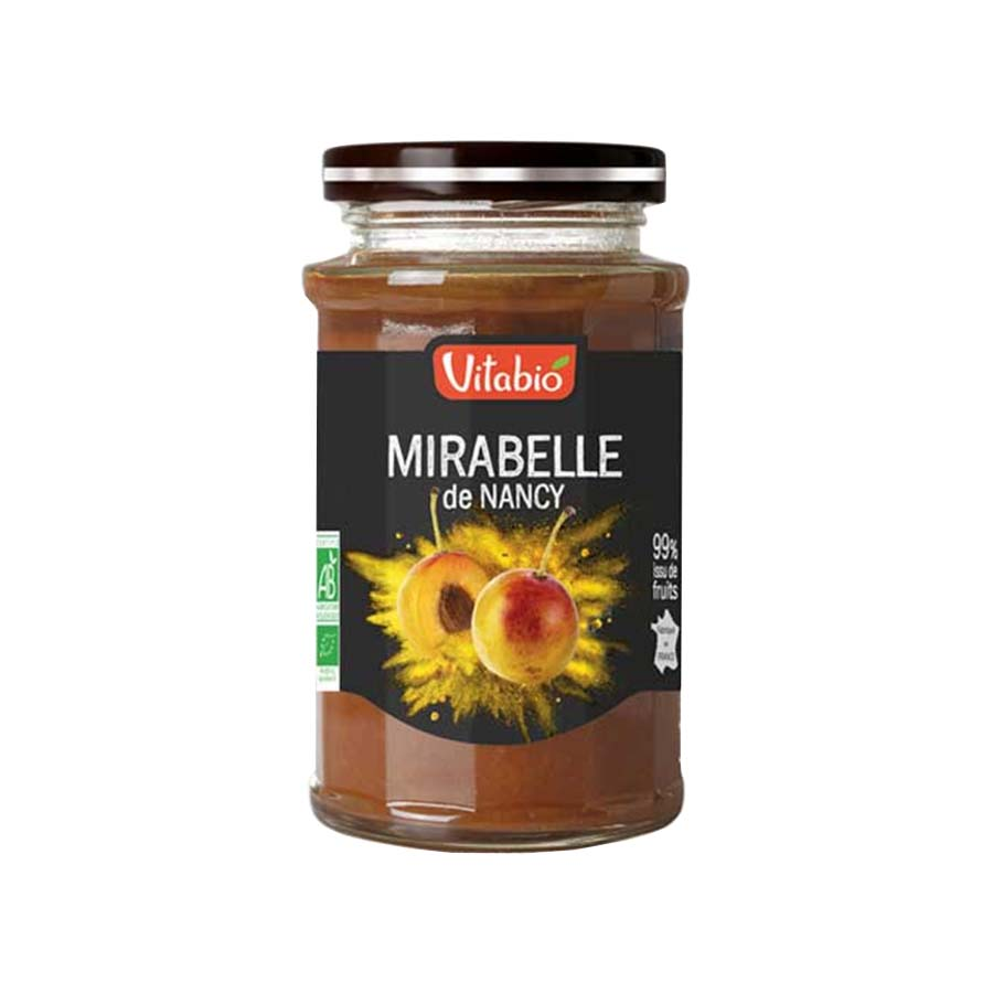Organic Mirabelle Spread 290g | No Added Sugar Vegan Vegetarian | Vitabio