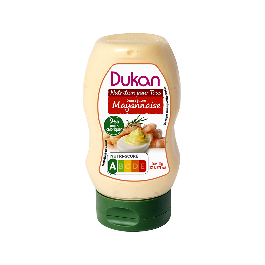 Dukan Μαγιονέζα 300ml | Χαμηλά Λιπαρά Λίγες Θερμίδες | Dukan