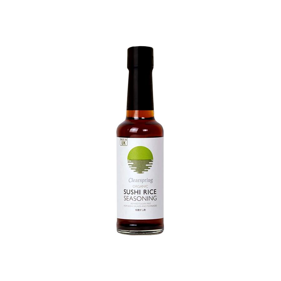 Βιολογικό Ξύδι για Sushi 150ml | Χαμηλά Λιπαρά Vegan | Clearspring