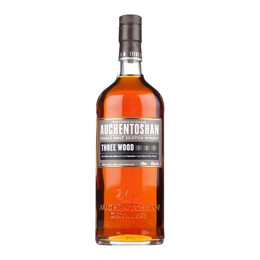 Auchentoshan 18 Year Old 700ml | Triple Distilled Lowland Single Malt Scotch Whisky  | Auchentoshan