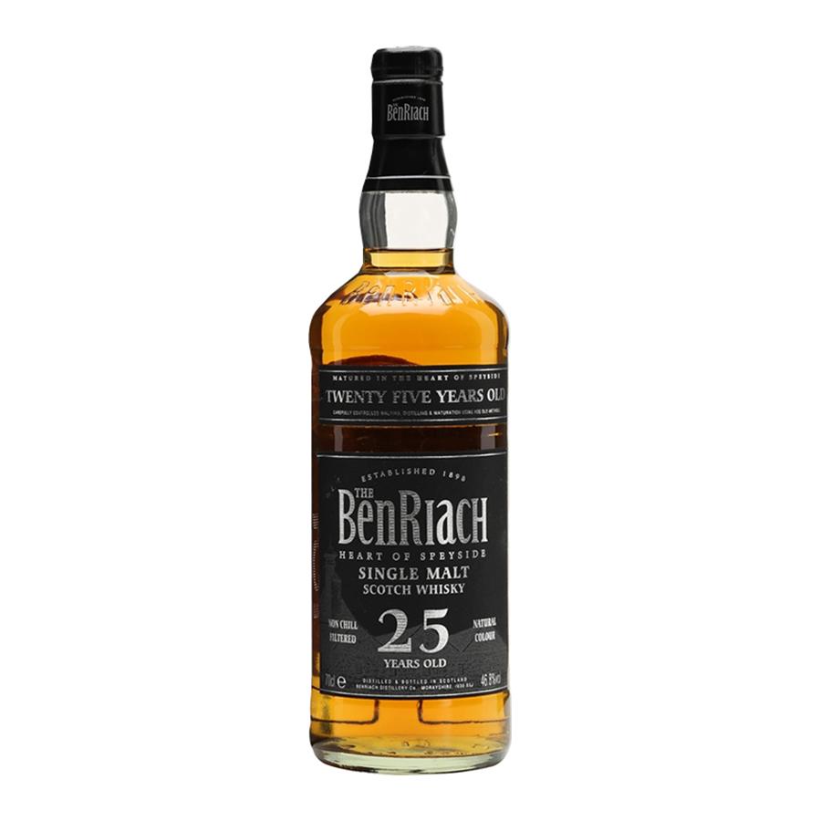 BenRiach 25 Year Old 700ml | Single Malt Scotch Whisky | BenRiach