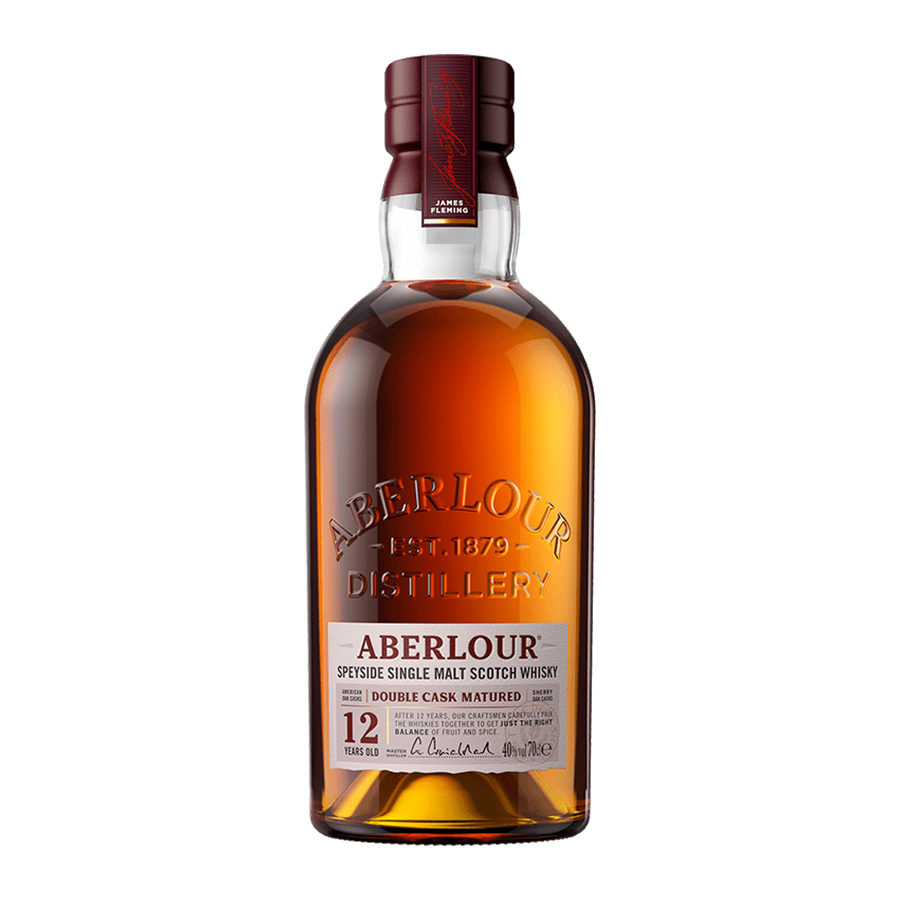 Aberlour 12 Year Old Double Cask Matured 700ml | Highland Single Malt Scotch Whisky | Aberlour