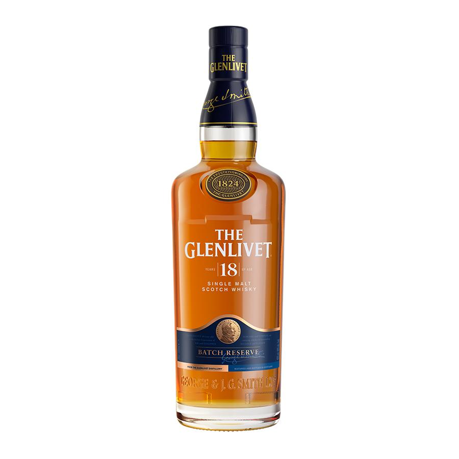 Glenlivet 18 Year Old 700ml | Single Malt Scotch Whisky | Glenlivet