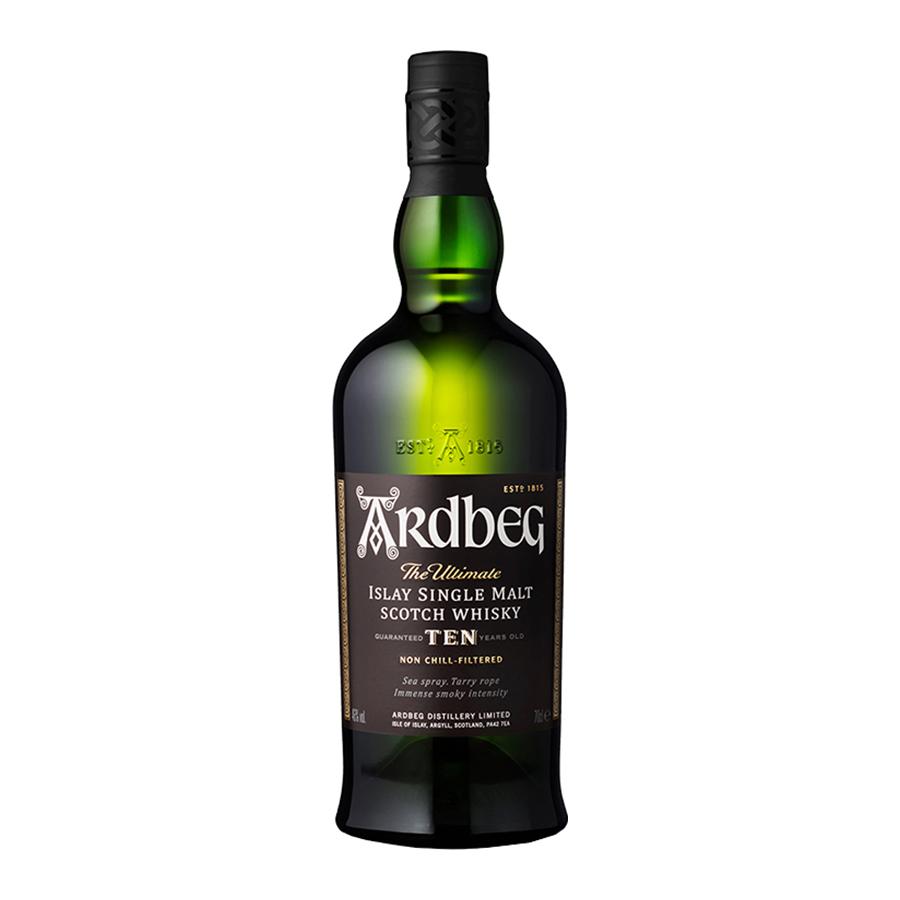 Ardbeg 10 Year Old 700ml | Islay Single Malt Scotch Whisky | Ardbeg