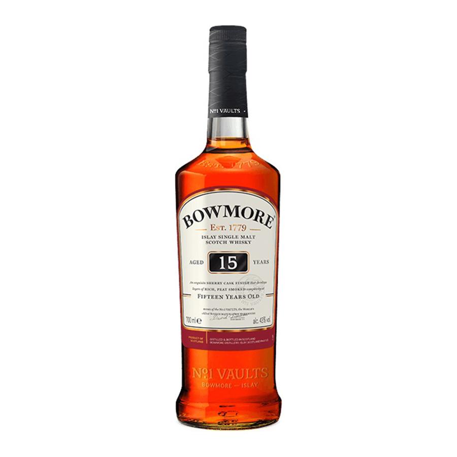 Bowmore 15 Year Old Darkest 700ml | Islay Single Malt Scotch Whisky | Bowmore