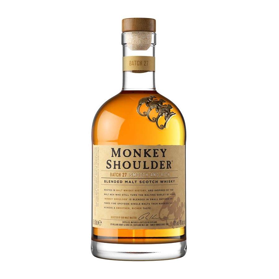 Monkey Shoulder 700ml | Blended Malt Scotch Whisky | Monkey Shoulder