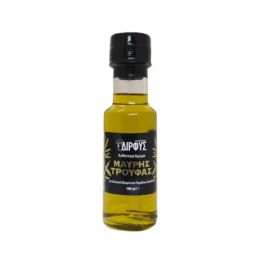 Ελαιόλαδο με Άρωμα Μαύρης Τρούφας 100ml | Εξαιρετικό Παρθένο Αρωματικό | Δίρφυς