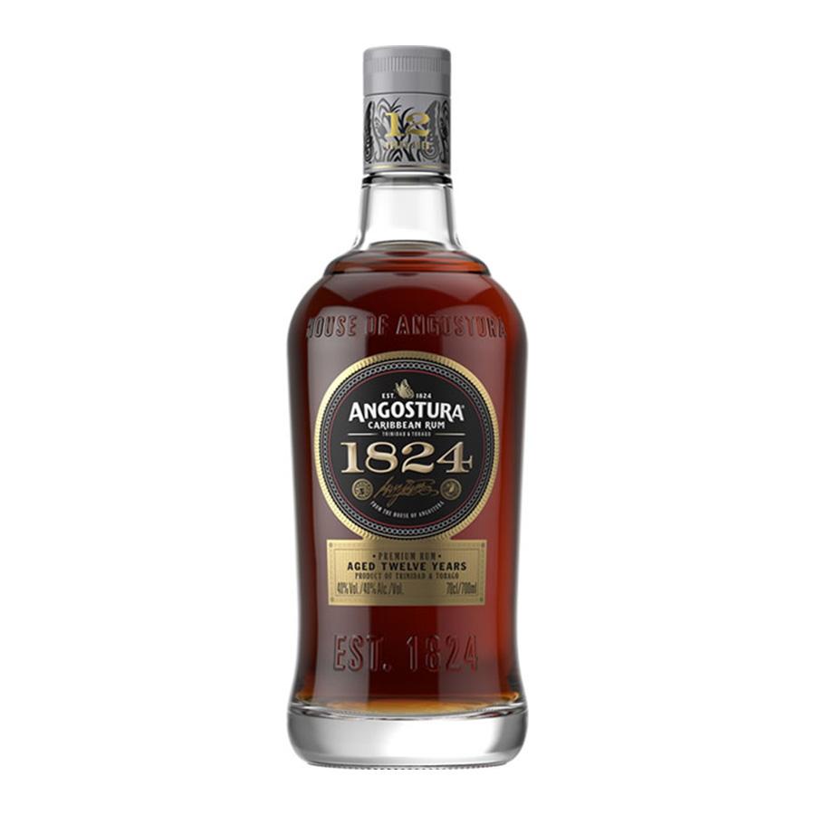 Angostura 1824 Rum 12 Year Old 700ml | Premium Caribbean Rum | Angostura