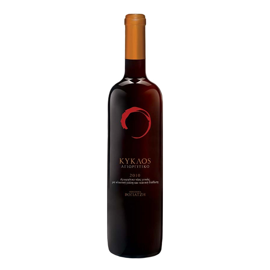 Kyklos Red | PGI Peloponnese Dry Wine Agiorgitiko (2017) 750ml | Ktima Voyatzi