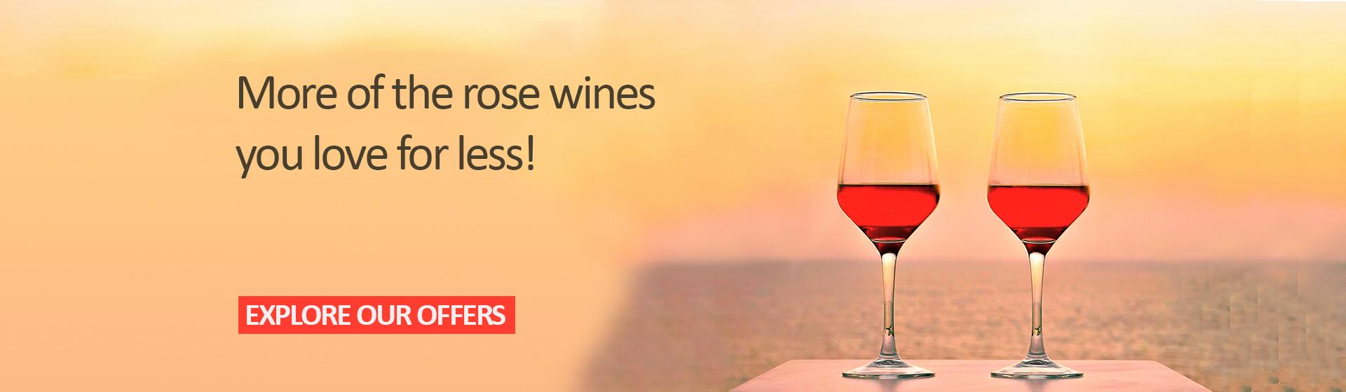 Roze Wine offer