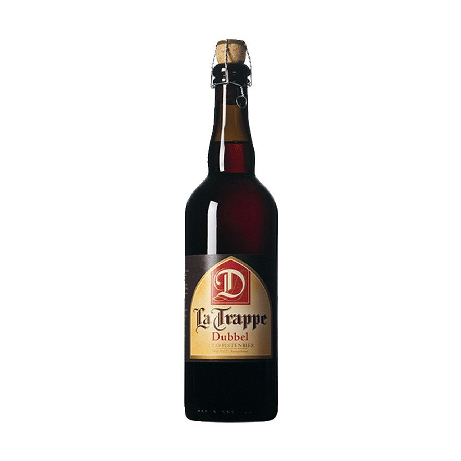 La Trappe Dubbel 750ml | Πορφυρή Μπύρα | Bierbrouwerij de Koningshoeven