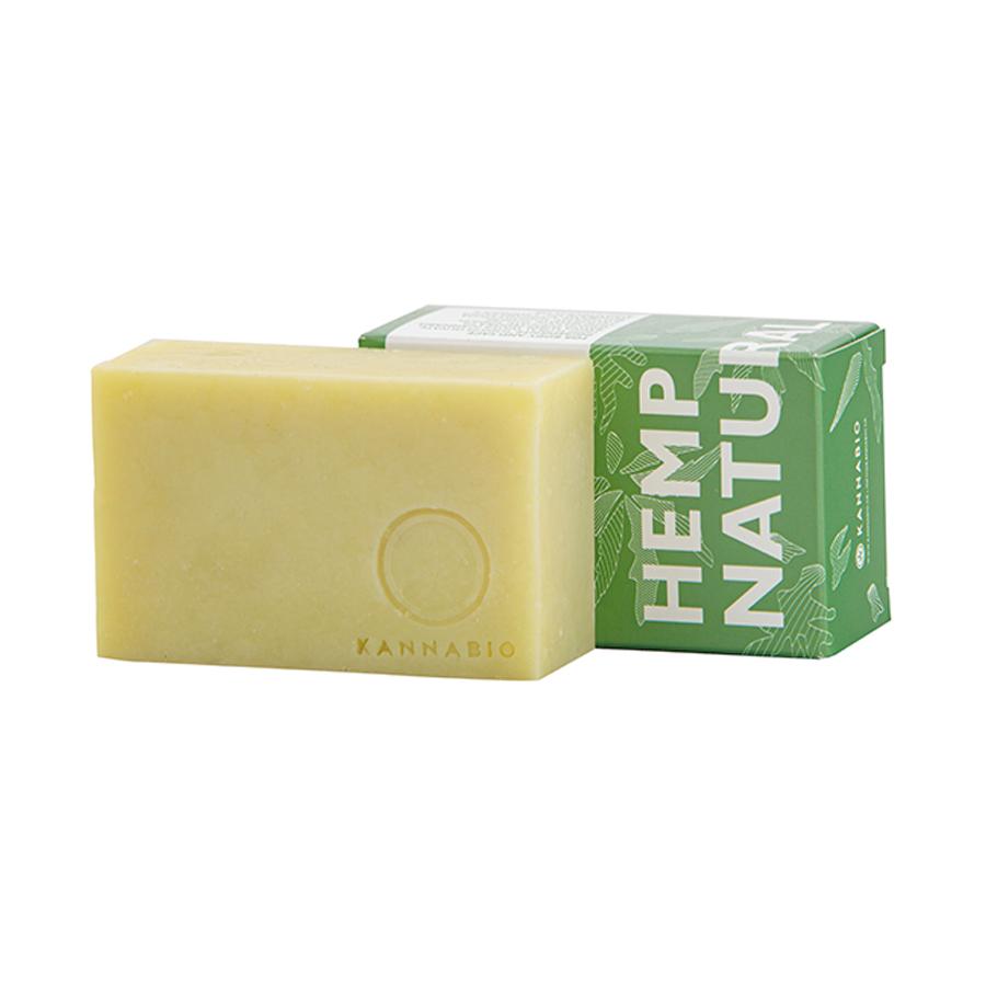 Σαπούνι Natural 105g | Χειροποίητο με Βιολογική Κάνναβη | Kannabio