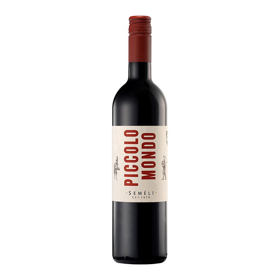 Semeli Piccolo Mondo | Semi-Sweet Red Wine Agiorgitiko 750ml | Semeli Estate