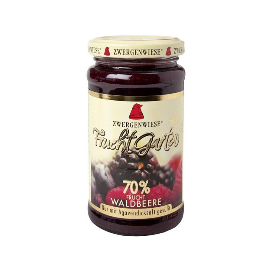 Επάλειμμα με Φρούτα του Δάσους 225g | Βιολογική Μαρμελάδα Vegan Χωρίς Ζάχαρη Χωρίς Γλουτένη Χωρίς Λακτόζη | Zwergenwiese