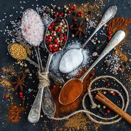 Salt, Herbs & Spices