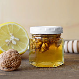 Products with Honey