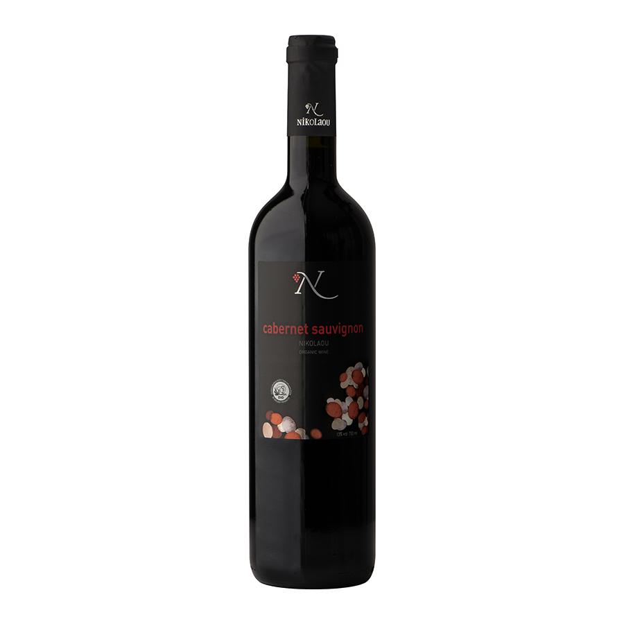 Cabernet Sauvignon Nikolaou | Red Dry Wine Organic (2018) 750ml | Domaine Nikolaou