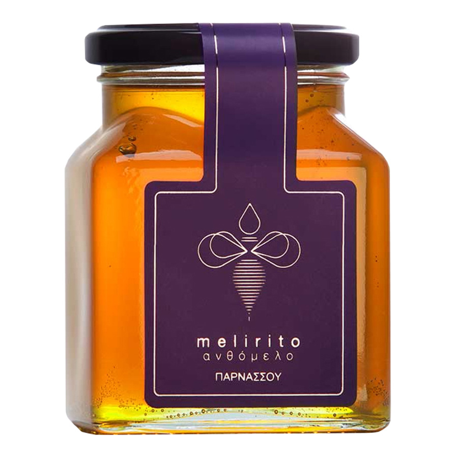 Ανθέων Μέλι 400g | 100% Φυσικό Ελληνικο |Melirito