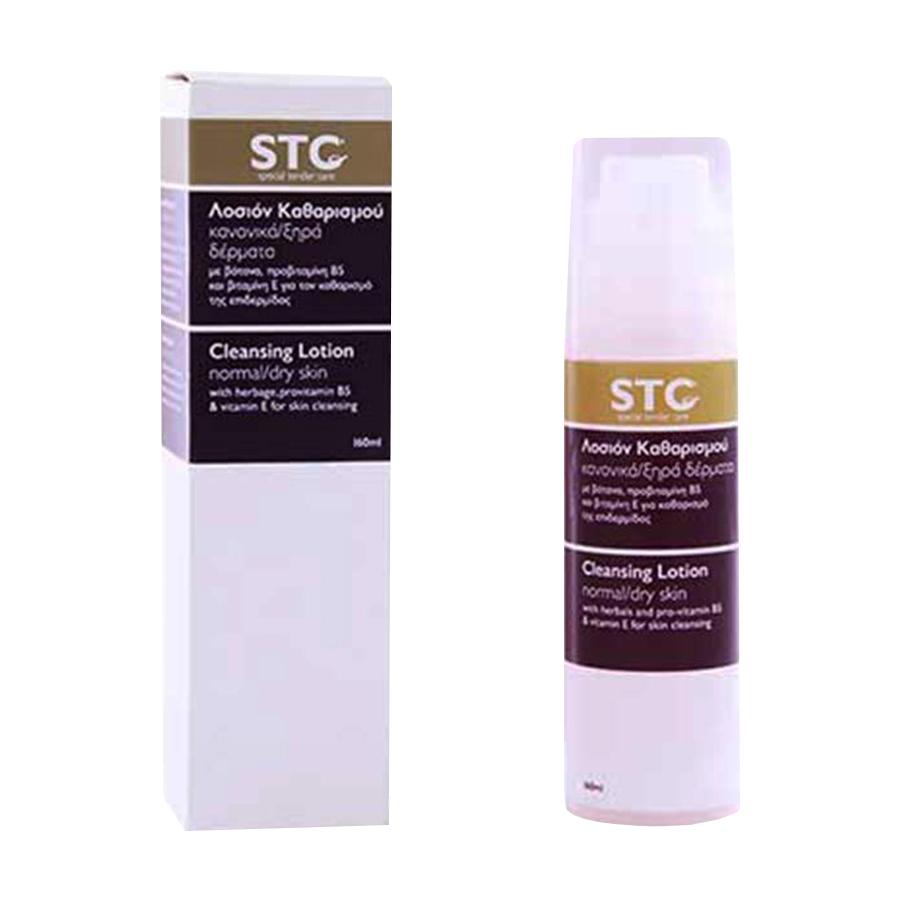 Λοσιόν Καθαρισμού για Κανονικές/Ξηρές Επιδερμίδες 160ml -STC