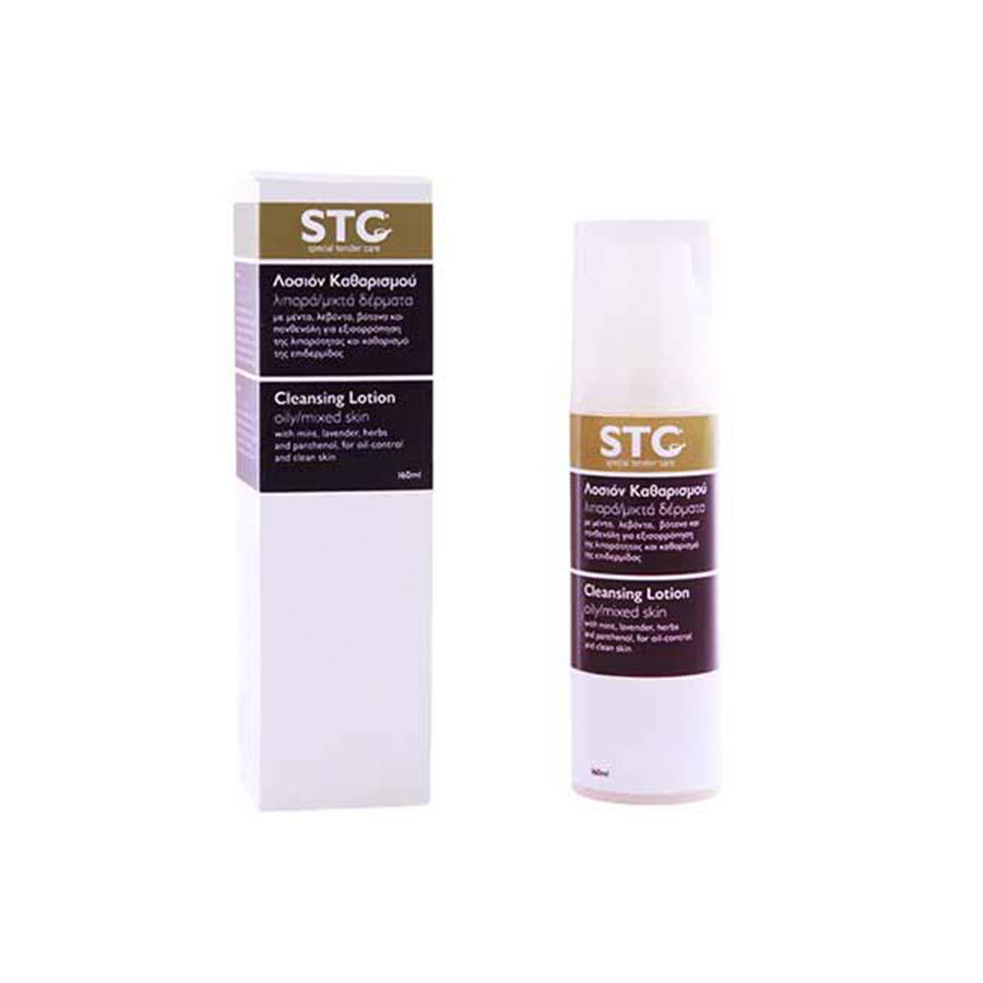 Λοσιόν Καθαρισμού Προσώπου για Μεικτές/Λιπαρές Επιδερμίδες 160ml - STC