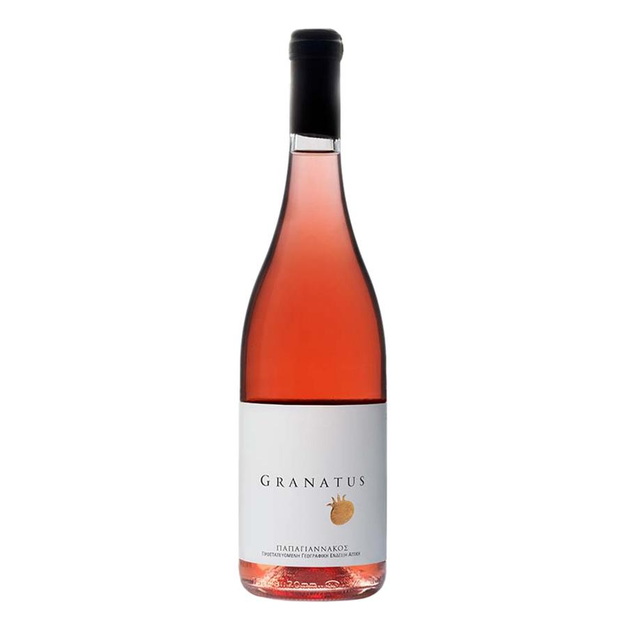 Granatus Ροζέ | ΠΓΕ Αττική Ροζέ Ξηρός Αγιωργίτικο Cabernet Sauvignon (2016) 750ml | Οινοποιείο Παπαγιαννάκου