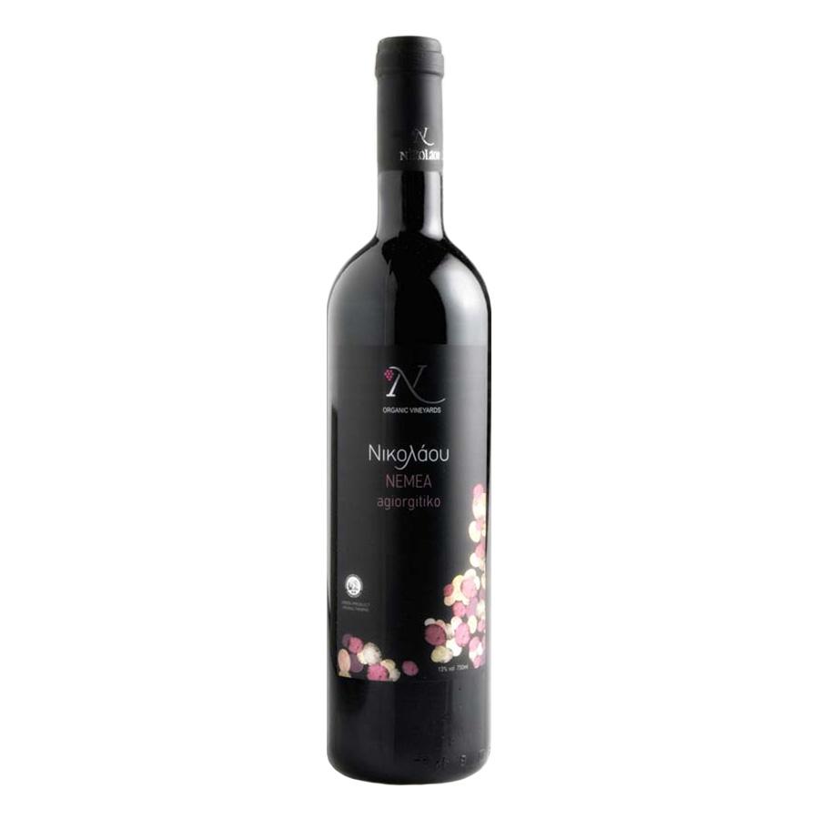 Nikolaou Nemea Red Wine, Organic, 750ml - Domaine Nikolaou