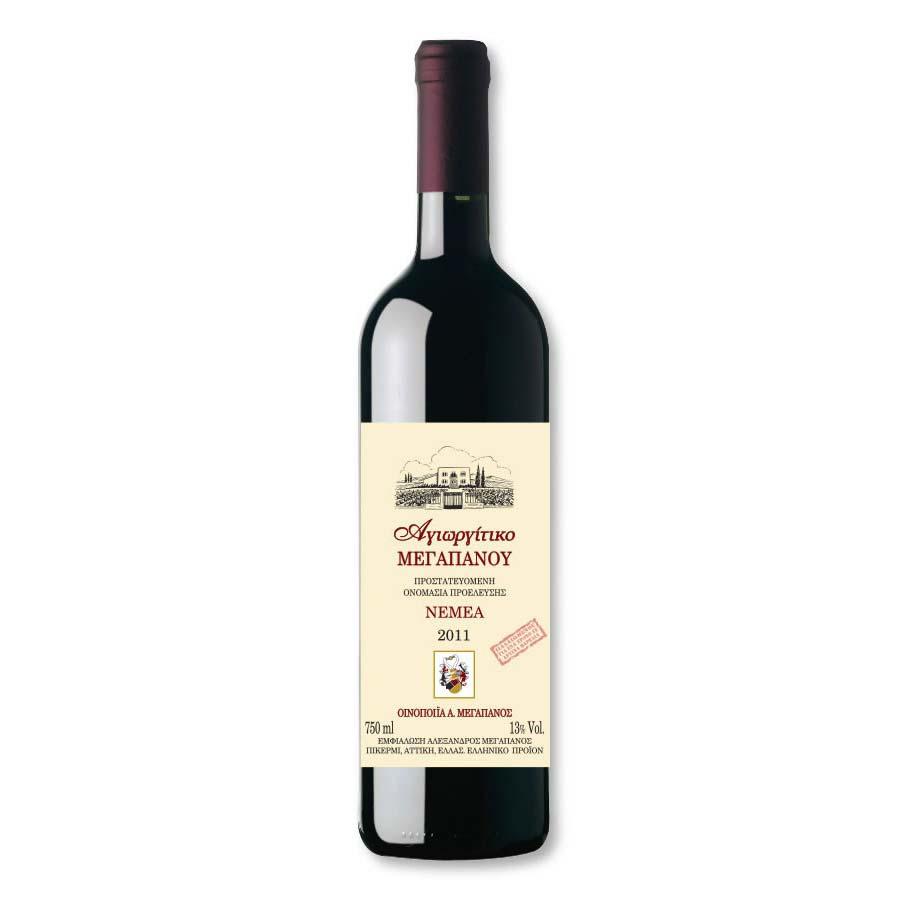 Agiorgitiko Red Wine 750ml - Megapanos Winery