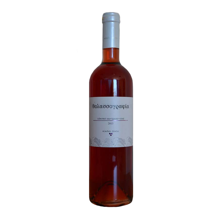 Thalassografia Rose Wine 750ml - Kikloi Oinou