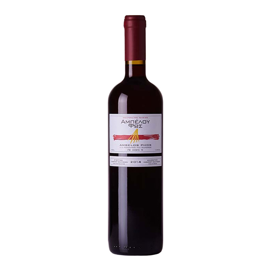Ambelos Fos Red Wine 750 ml - Zaharias Vineyards