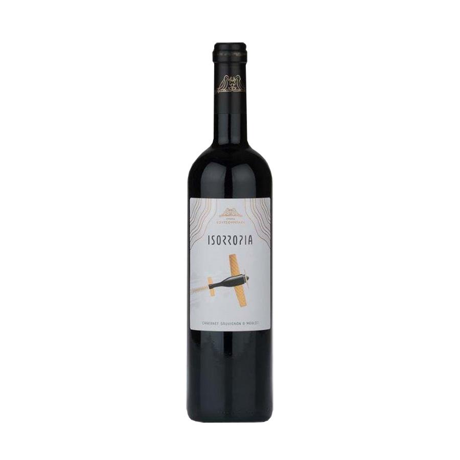 Isorropia Red Wine 750ml -Koutsoumpakis Estate