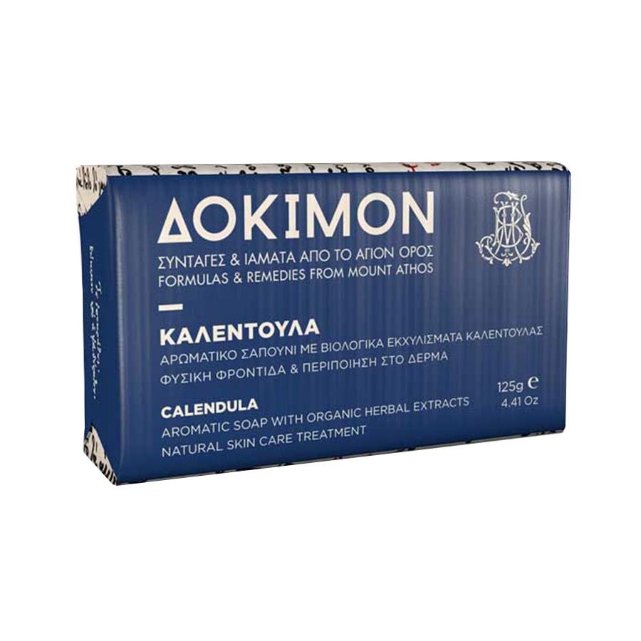 Δόκιμον Σαπούνι Καλέντουλα 125g - Ι. Μ. Μ. Βατοπαιδίου