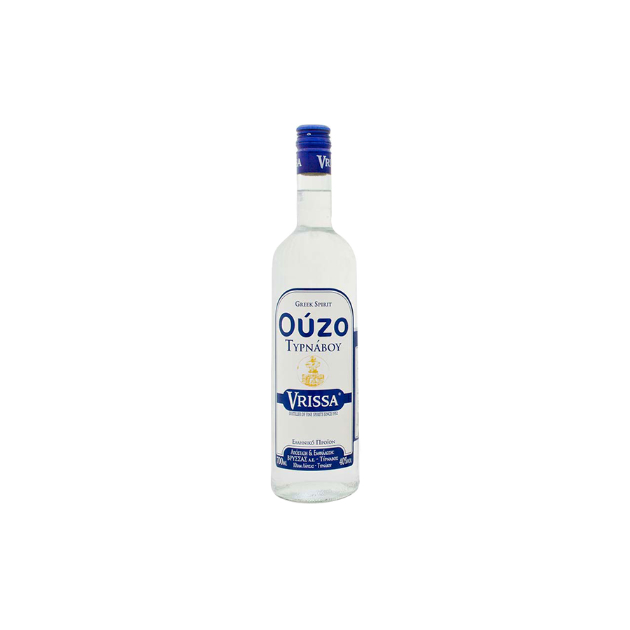 Ouzo from Tyrnavos 200ml - Vrissa Distillery
