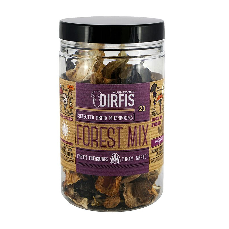 Dried Forest Mix Mushrooms 30g - Manitaria Dirfis