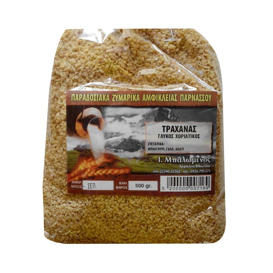 Trahanas (Frumenty) 500g - Traditional Pasta of Amfiklia