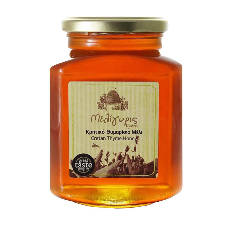 Κρητικό Μέλι Άγριο Θυμάρι   Φυσικό Ελληνικό Άθερμο 800g   Μελίγυρις