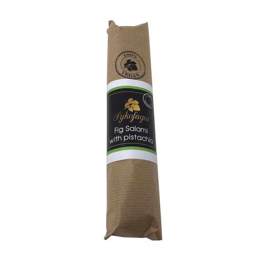 Σαλάμι Σύκου Κύμης με Φυστίκι 250g - Συκοφάγος
