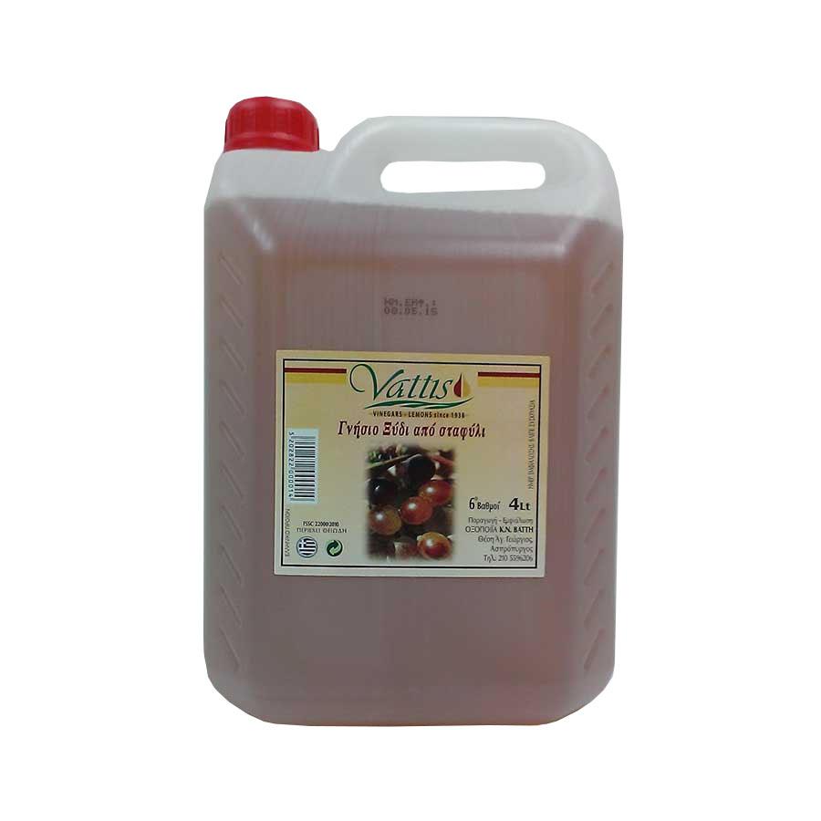 Red Vinegar 4lt - Vattis Vinegar (Star)